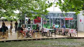 Roubaix : top départ pour la guinguette du Galon d'eau ! - La Voix du Nord