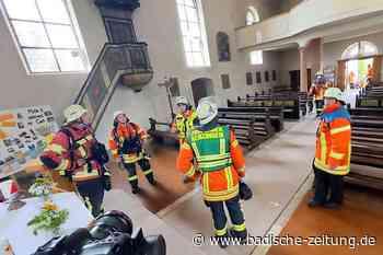 Bombacher Kirche entgeht Großbrand - Kenzingen - Badische Zeitung