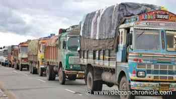 Lorry owners decry forced paddy transport - Deccan Chronicle