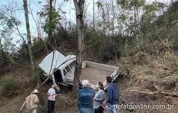 Idoso fica ferido após acidente na estrada 105 em Itabira - DeFato Online