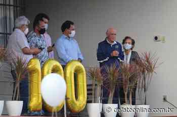Prefeitura de Itabira celebra centenário de Dr. Colombo e reúne mais de 50 pessoas - DeFato Online