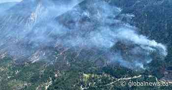 Out-of-control wildfire near Lytton, B.C. grows to 350 hectares