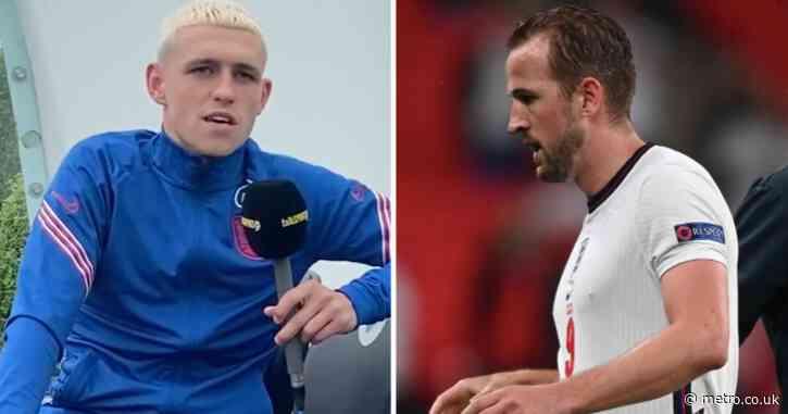 Phil Foden backs England captain Harry Kane to silence his critics at Euro 2020