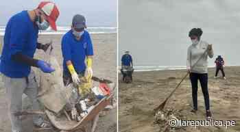 Arequipa: recogen más de cuatro toneladas de basura en playas de Camaná - LaRepública.pe