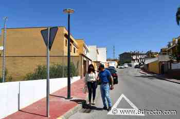 Eficiencia Energética sustituye las 65 luminarias de Lomas de la Pólvora - 8directo - La Calle Real