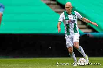 Verrassing bij de U18 van FC Groningen: opeens staat Arjen Robben in de basis
