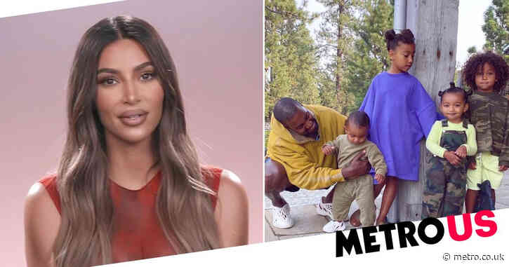 Kim Kardashian wishes 'amazing' ex-husband Kanye West a happy Father's Day after opening up about divorce