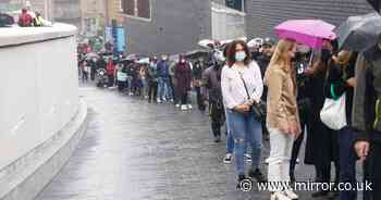 Rush to save summer with massive queues for Covid jabs as hope of holidays grow