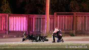 Motorcyclist dies after Burnaby hit-and-run collision