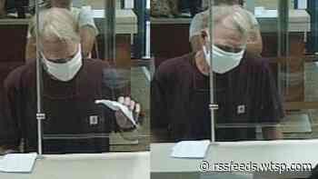 Sheriff: Man robs Bradenton bank with written bomb threat