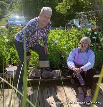 Three friends use garden plot to honour their mothers - Kincardine News
