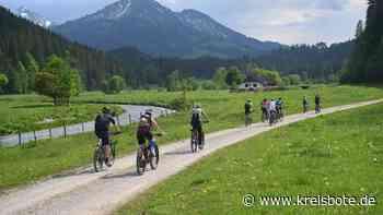 Radwege-Netz: Eröffnung des Projekts »Naturbiken/Allgäu« - Kreisbote