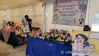 Emprendedoras arman un punto de comercio fijo - Criterio Hidalgo