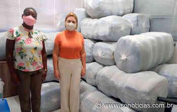 Lucas do Rio Verde recebe 600 cobertores para ajudar pessoas em situação de vulnerabilidade - Só Notícias