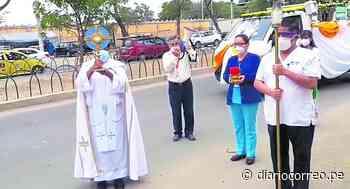 Corpus Christi recorre hospitales de Piura llevando mensaje de fe a los enfermos - Diario Correo