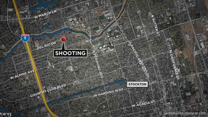 Suspect Fires Shotgun Into Stockton Home, Injures 2 People