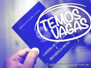 Conheça as vagas de emprego na cidade de Patos de Minas - Patos em Destaque