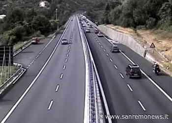 Iniziato il primo controesodo dell'estate: prime code a Savona sulla A10 in attesa della serata - SanremoNews.it