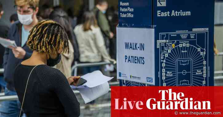 UK records 9,284 new cases – as it happened