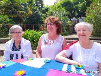 Bidart : les résidents de l'Ehpad Eskualduna ont tricoté ensemble - Sud Ouest
