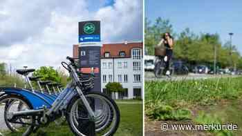 Mobile-Mietrad-Oase in Ottobrunn jetzt wieder weg - Merkur Online