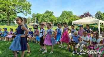Kinder von St. Vitus Schnaittenbach feiern ihre eigene Kirwa - Onetz.de