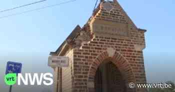 Vrachtwagen ramt kapelletje in Bierbeek, dak deels beschadigd - VRT NWS
