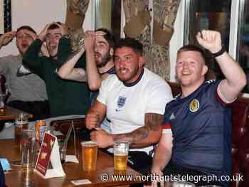 Corby football fans' England-Scotland Euros big match photo special - Northamptonshire Telegraph