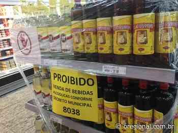 Vendas de bebidas alcóolicas seguem proibidas em supermercados de Catanduva - O Regional online
