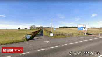 Man dies after motorbike crashes off Fenwick road - BBC News