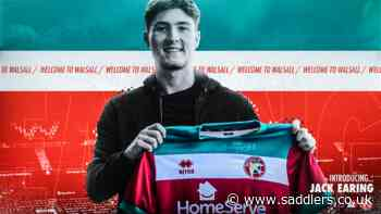 Jack Earing becomes fourth signing of the summer - saddlers.co.uk