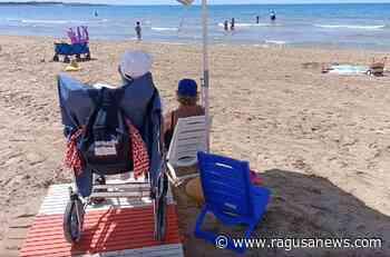 Marina di Modica, la spiaggia senza ostacoli VIDEO Modica - RagusaNews