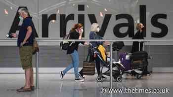 Just 1 in 200 amber list travellers have coronavirus   News - The Times