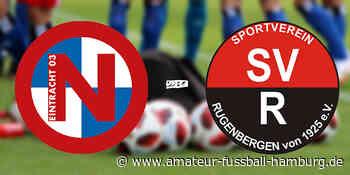 Liveticker: FC Eintracht Norderstedt - SV Rugenbergen - Amateur Fußball Hamburg