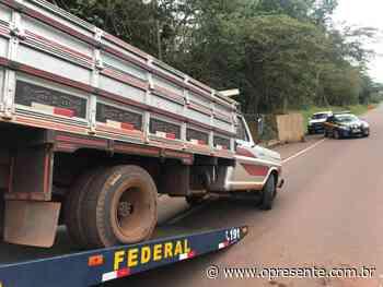 PRF recupera veículos furtados em Entre Rios e Toledo antes que adentrassem o Paraguai - O Presente