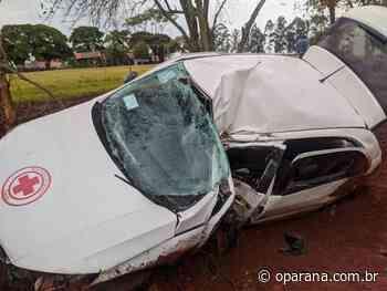 Grave acidente deixa dois feridos na PR-585 entre Toledo e São Pedro do Iguaçu - O Paraná