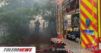 Mulher morre em incêndio em residência no Jardim Europa - Toledo News