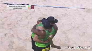Bruno Schmidt e Evandro são campeões no Rio de Janeiro - globoesporte.com