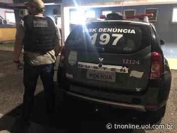 Homem apontado como autor de homicídio é preso em Arapongas - TNOnline - TNOnline