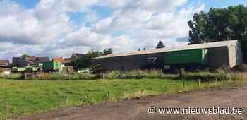 Protest tegen regularisatie van transportbedrijf in dorpskern Koninksem