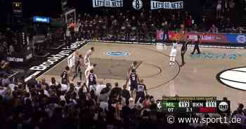 Trotz NBA-Rekord von Kevin Durant: Brooklyn Nets verpassen Conference Finals - SPORT1