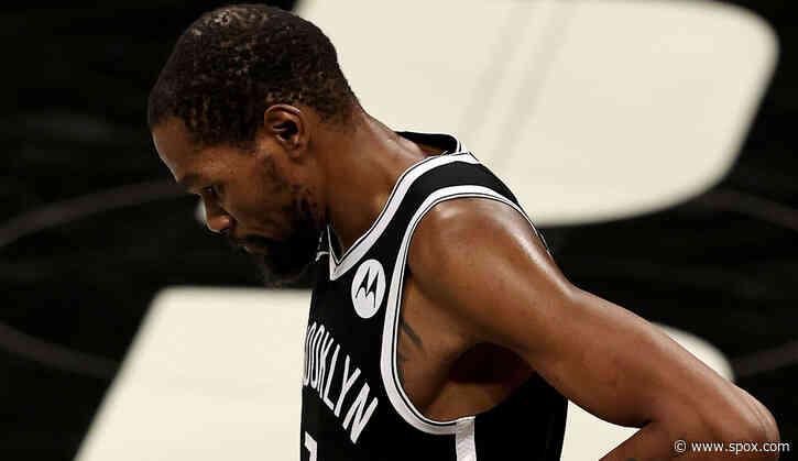 """NBA Playoffs: Kevin Durant ärgert sich über seinen """"verdammt riesigen Fuß"""" bei möglichem Gamewinner in Spiel 7 - SPOX.com"""