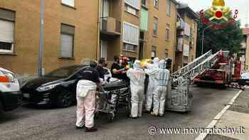 Novara, malore in casa: intervento dei vigili del fuoco in via Asiago - NovaraToday