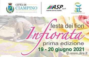 A Ciampino la prima edizione dell'Infiorata insieme all'onlus Gemme Dormienti - DIRE.it - Dire