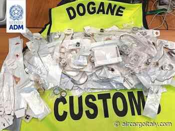 All'aeroporto di Ciampino sequestrati 194 gioielli falsi - AIR CARGO ITALY
