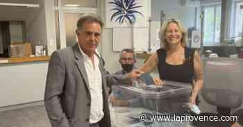 Départementales - Canton d'Aubagne : Yves Mesnard a voté à Roquevaire - La Provence