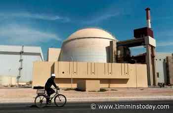 Iran's sole nuclear power plant undergoes emergency shutdown - TimminsToday