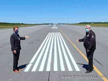 $9.5M paving project completed at Timmins airport - Timmins Press