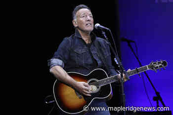 Canadians who got AstraZeneca shot can now see 'Springsteen on Broadway' – Maple Ridge News - Maple Ridge News