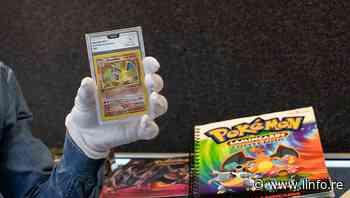 Troyes: une carte Pokémon vendue près de 12 000 euros aux enchères - LINFO.re